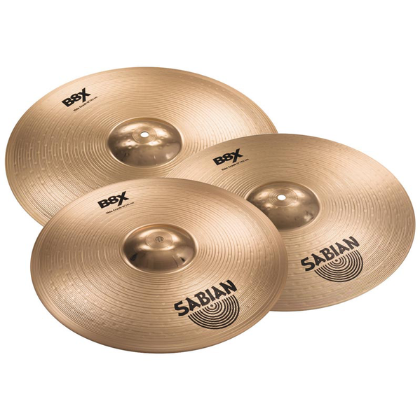Sabian 45006X2 B8X Crash and Bag Cymbal Bundle