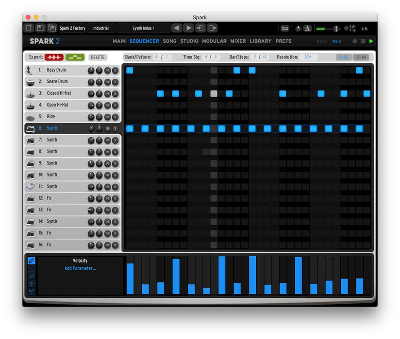 Arturia Spark 2 Virtual Drum Machine [Download] - Bananas at Large®