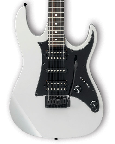 Ibanez GRX55B Limited Edition Gio Series Electric Guitar - White with Black Hardware - Bananas at Large - 1
