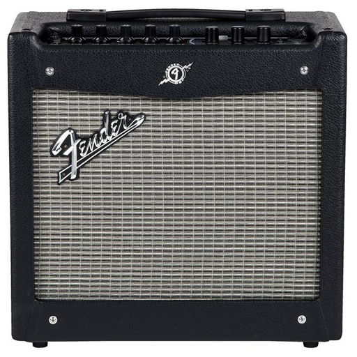Fender Mustang I (V2) 20 Watt Combo Amp - Black and Silver