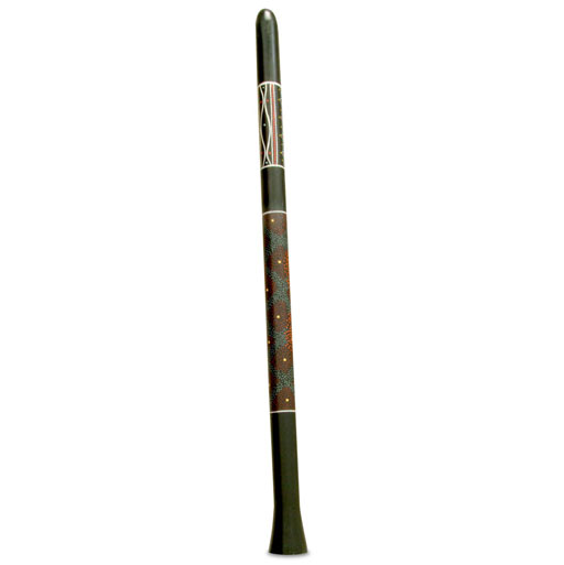 TOCA DIDGERIDOO BLK W/ART LRG - Bananas at Large