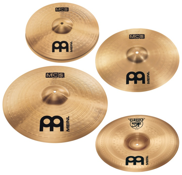 Meinl MCS Pack HH,16, 20 - Bananas at Large