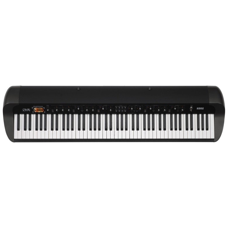 Korg SV-1 88 88-Key Stage Vintage Piano Black - Bananas at Large
