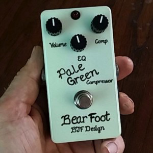 BearFoot BJF Designs Pale Green Compressor Pedal - Bananas at Large