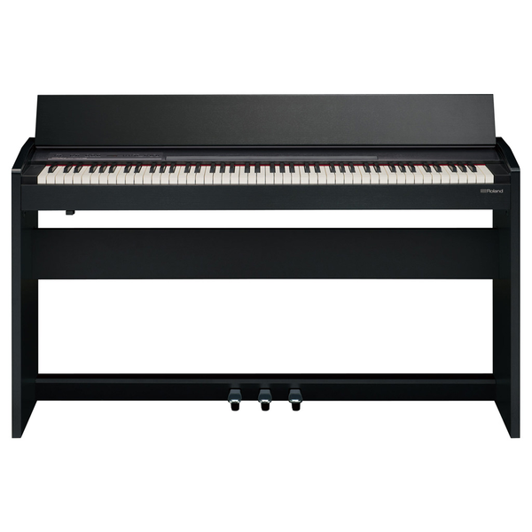 Roland F-140R 88 Key SuperNATURAL Digital Piano with Stand - Contemporary Black - Bananas at Large