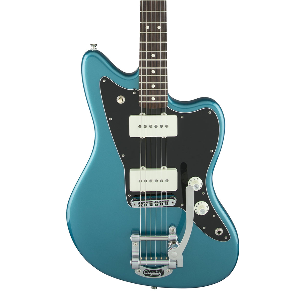Fender Limited Edition American Special Jazzmaster with Bigsby - Ocean Turquoise - Bananas At Large®