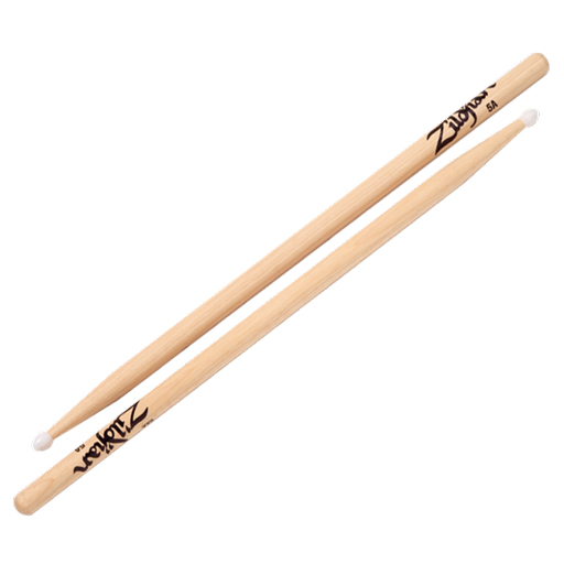Zildjian SDB5ANN 5A Nylon Tip Natural Sticks - Bananas at Large
