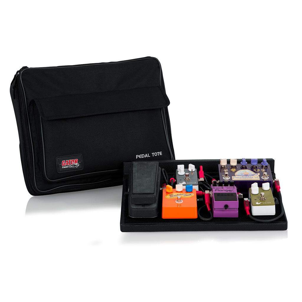 Gator GPT-BL-PWR Pedalboard with Carry Bag and Power Supply - Bananas At Large®