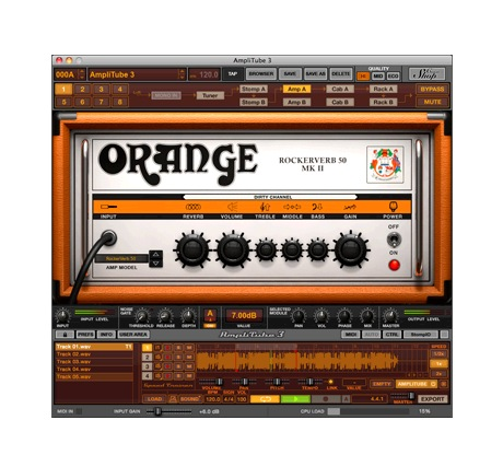 IK Multimedia AmpliTube ORANGE [Download] - Bananas At Large®