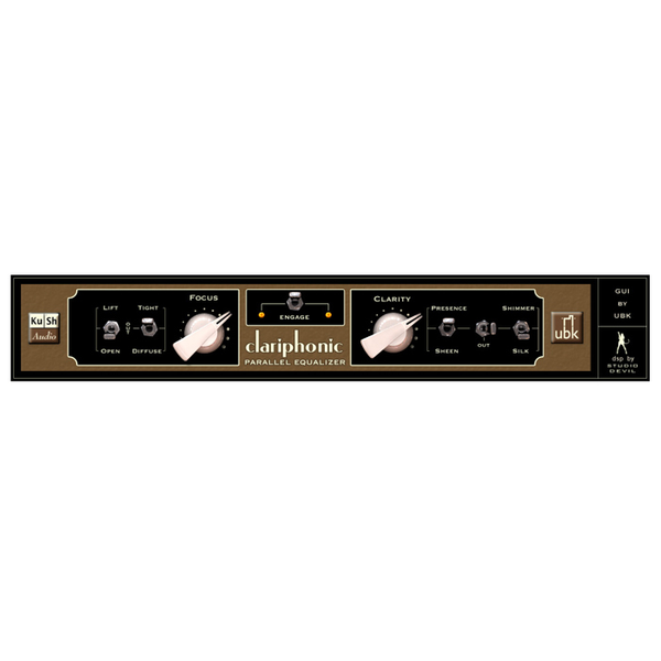 Kush Audio Clariphonic DSP Parallel Equalizer [Download] - Bananas at Large