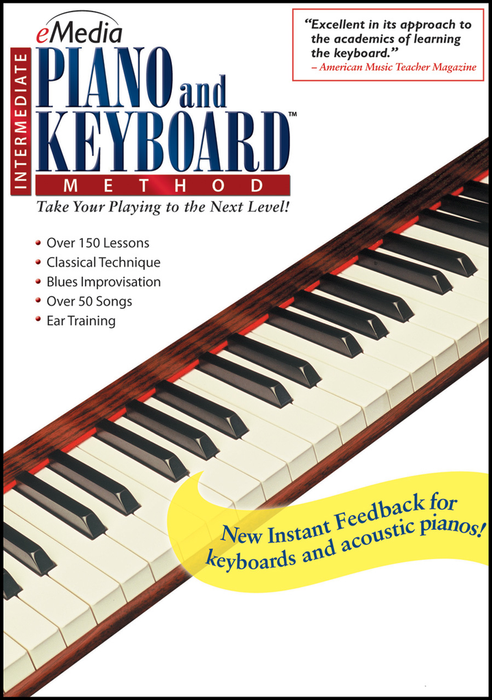 eMedia Intermediate Piano - MAC [Download] - Bananas at Large - 2
