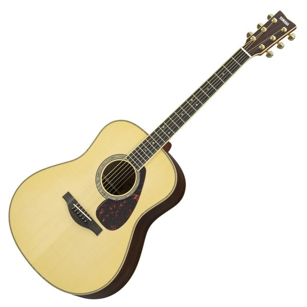 Yamaha LL16RHC L-Series Dreadnought Acoustic Guitar Bundle with Accessories - Bananas at Large