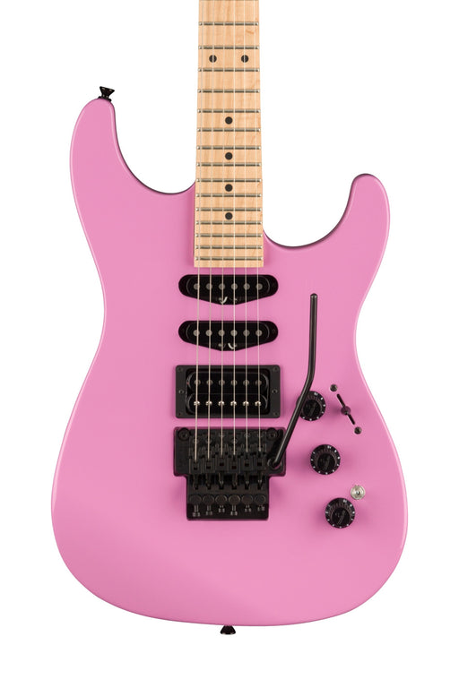 Fender Limited Edition HM Stratocaster with Maple Fingerboard - Flash Pink