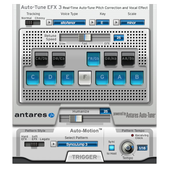 Antares 631643 Auto-Tune EFX 3 Pitch Correction Software [Download] - Bananas At Large®