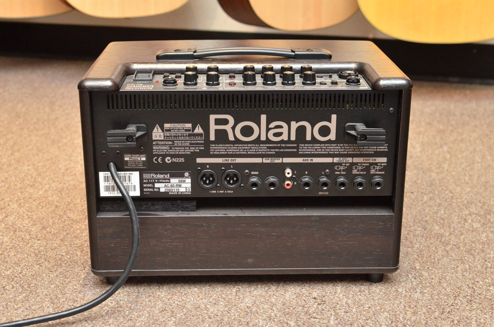 Roland AC-60RW Acoustic Chorus Guitar Amplifier w/ Carry Bag and Cable (Pre-Owned) - Bananas at Large - 4