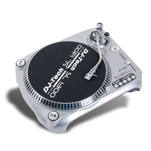 DJ Tech SL1300 Mk6 Direct Drive Turntable with USB - Bananas At Large®