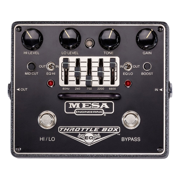 Mesa/Boogie Throttle Box EQ Pedal - Bananas at Large