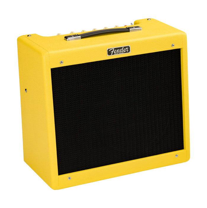 Fender 2020 Limited Edition Blues Junior IV, Eminence Swamp Thang - Graffiti Yellow
