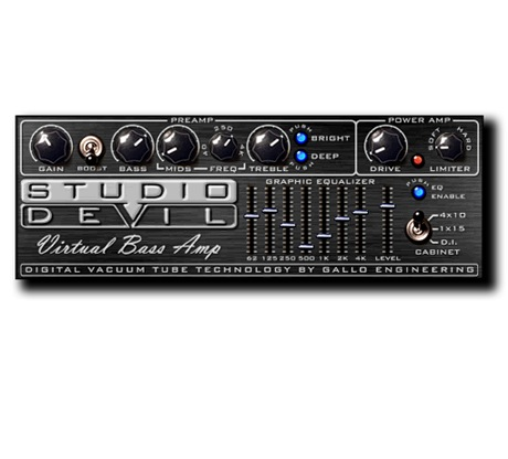 Studio Devil Virtual Bass Amp [Download] - Bananas at Large