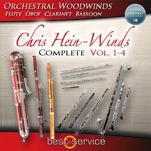 Best Service Chris Hein Winds Complete Orchestral Woodwinds [Download] - Bananas At Large®