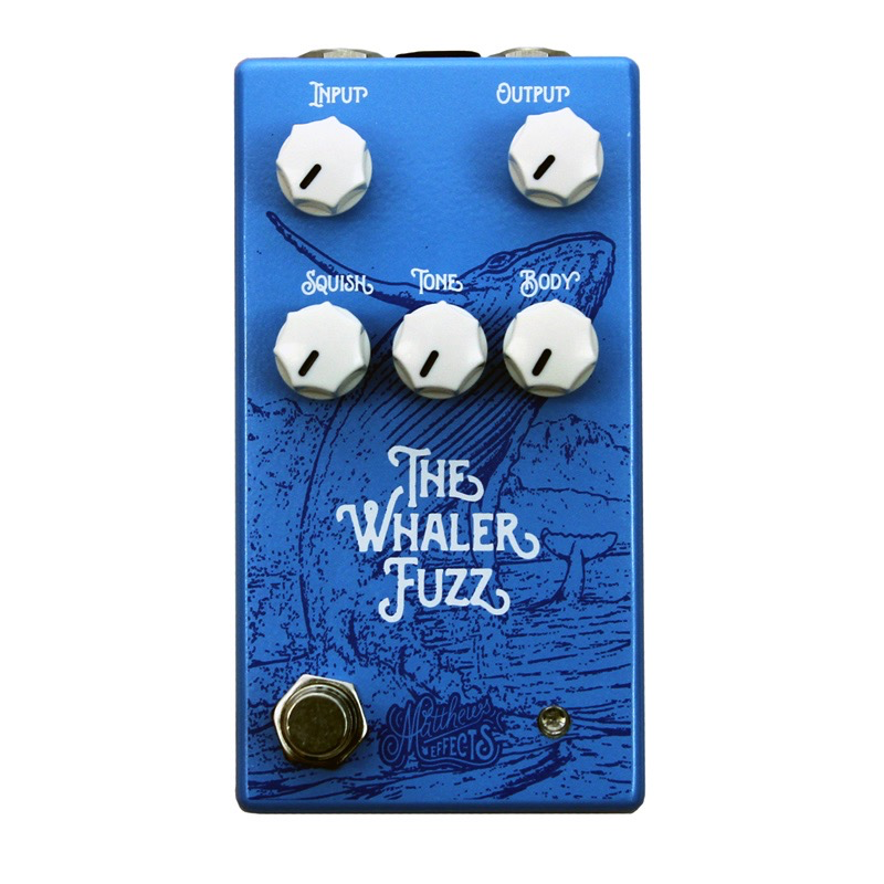 Matthews Effects The Whaler Fuzz Original Fuzz Circuit Pedal - Bananas at Large - 1