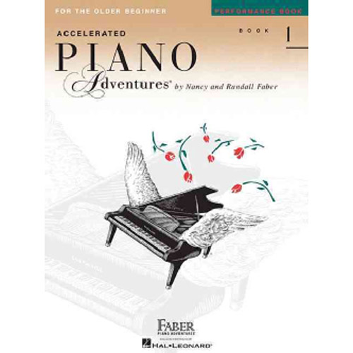 Hal Leonard Accelerated Piano Adventures for the Older Beginner Peformance Book 1 - Bananas at Large