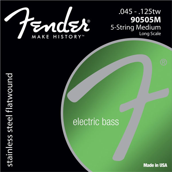 Fender 9050 Stainless Flatwound Bass Strings - V Strings - Bananas at Large