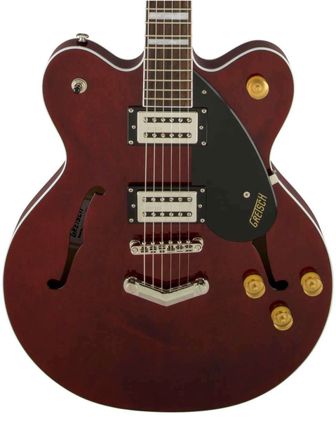 Gretsch G2622 Streamliner Center Block with V-Stoptail and Broad'Tron - Walnut Stain