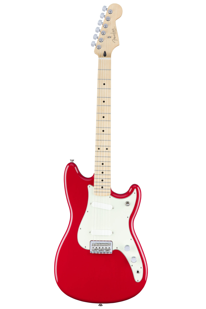 Fender Duo Sonic with Maple Fingerboard - Torino Red - Bananas at Large - 1