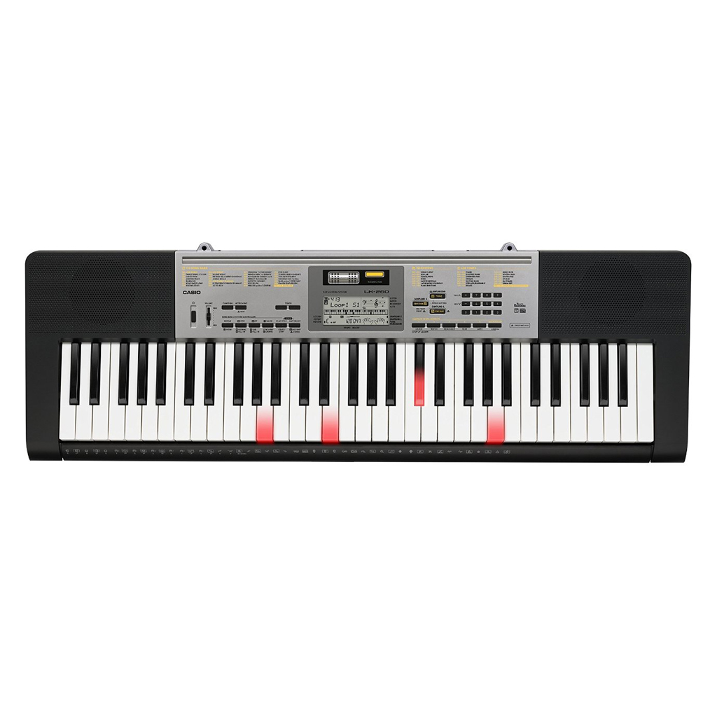Casio LK260 Lighted Key Portable Arranger 61-Key - Bananas At Large®