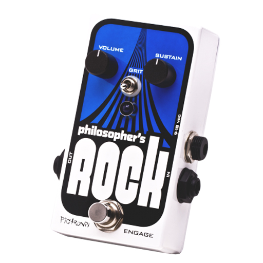 Pigtronix Philosophers Rock Compressor Sustainer With Germanium Distortion - Bananas at Large
