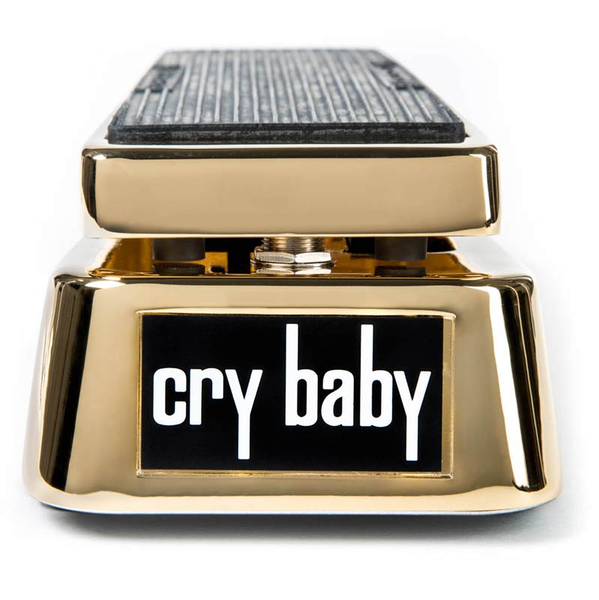 Dunlop 50th Anniversary Gold CryBaby Wah Pedal