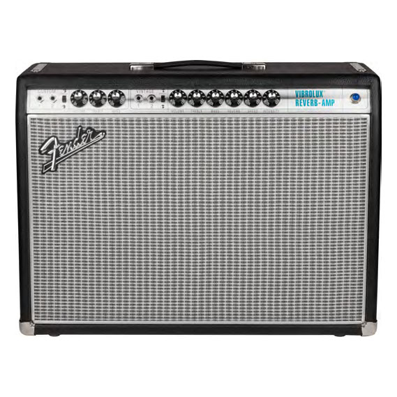 Fender 68 Custom Vibrolux Reverb 35 Watt Combo Amp - Bananas At Large®