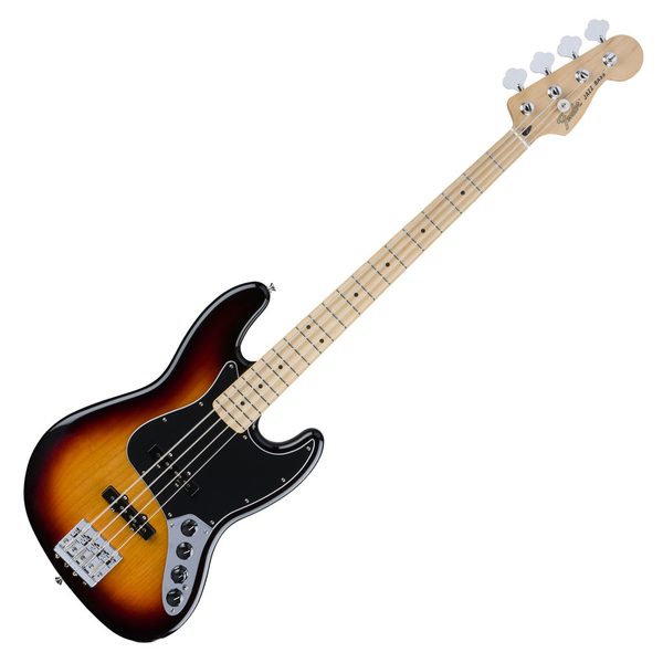 Fender Deluxe Active Jazz Bass with Maple Fingerboard - 3 Color Sunburst - Bananas At Large®