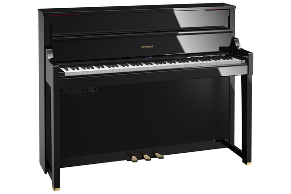 Roland LX-17 SuperNATURAL Digital Piano with Stand and Bench - Polished Ebony