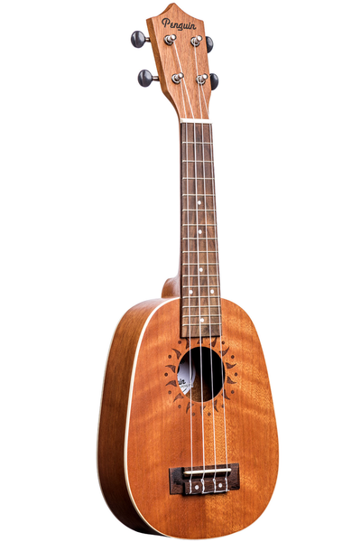 Amahi Penguin PGUKMPN Pineapple Mahogany Ukulele - Bananas at Large