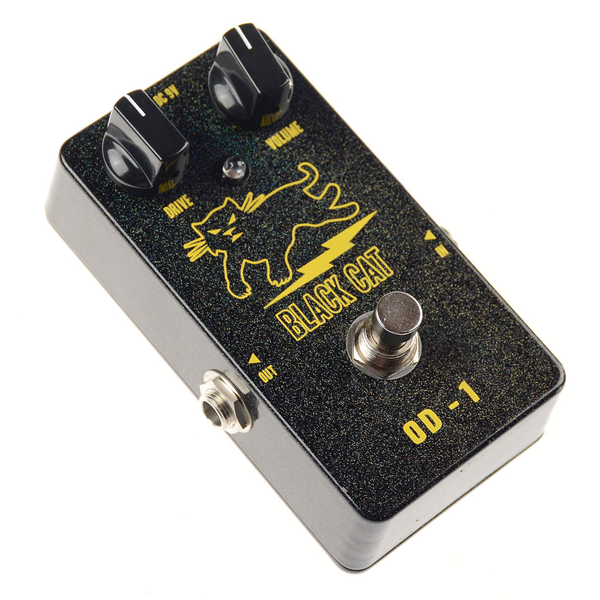 Black Cat Pedals OD-1 a.k.a. Freddie Fuzz Pedal - Bananas at Large