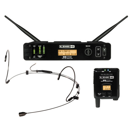 Line 6 XD-V75HS Digital Wireless System With Bodypack Transmitter and Black Headset - Bananas at Large