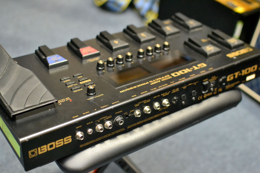Boss GT-100 Multi-Effects Processor (Pre-Owned) - Bananas at Large - 3