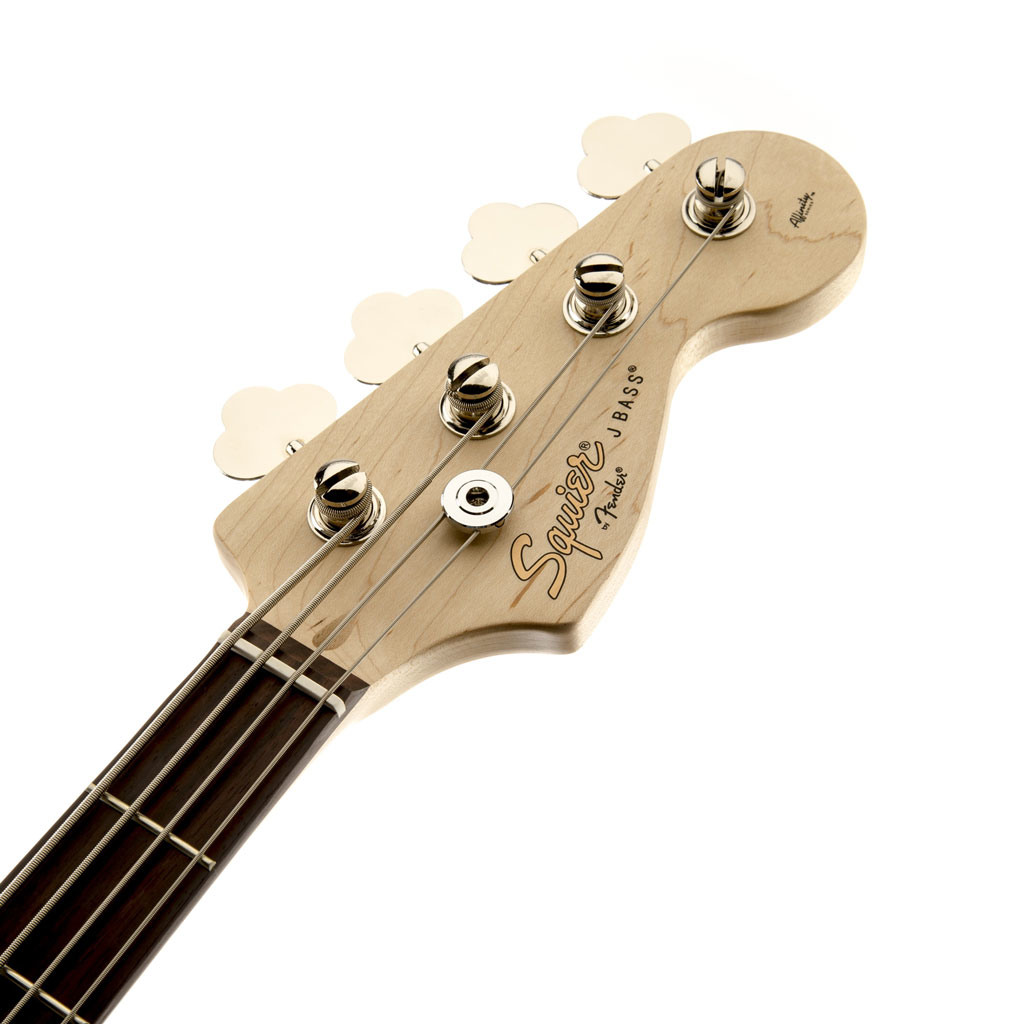 Squier Affinity Series Jazz Bass with Rosewood Fingerboard - Brown Sunburst - Bananas at Large - 2