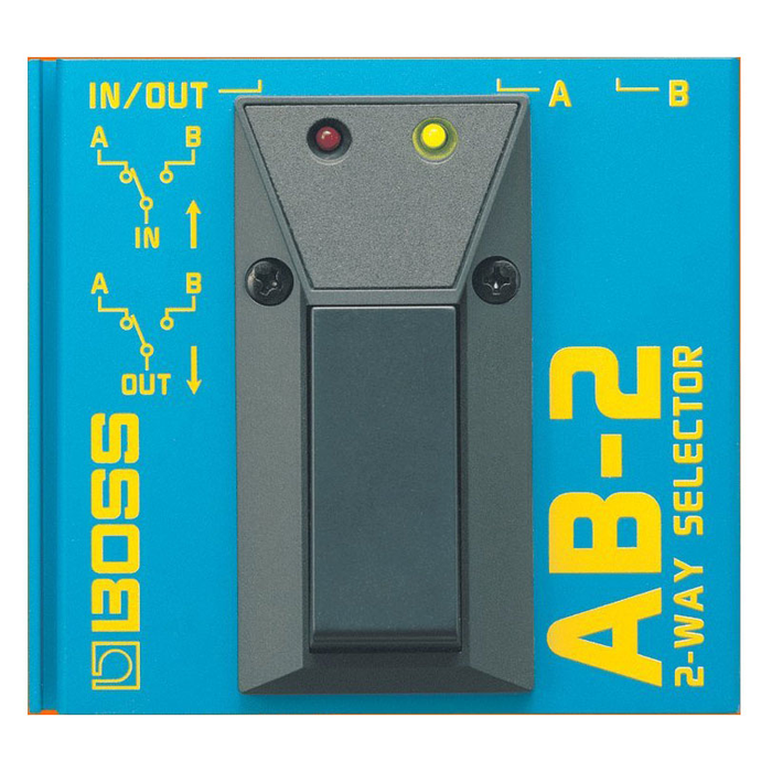 Boss AB-2 2-Way Selector Pedal - Bananas at Large
