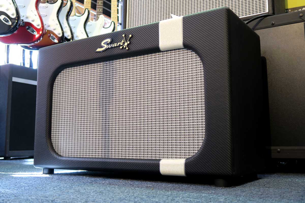 Swart MOD84 Celestion Creamback Carbon White Sparkle Combo Amp - Bananas at Large - 1