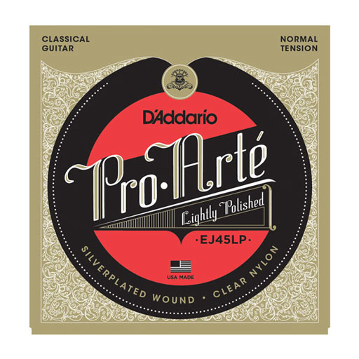 DAddario EJ45LP Pro-Arte Lightly Polished Composite Normal Tension Classical Strings - Bananas At Large®