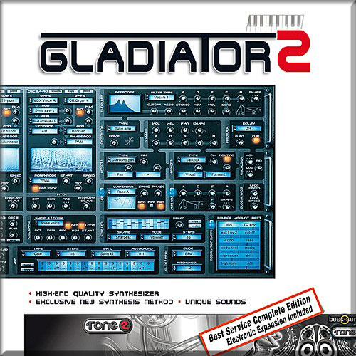 Tone 2 Gladiator 2 Expanded Revolutionary synthesis - expanded [Download] - Bananas at Large - 1