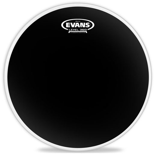 Evans B10ONX2 10 Inch Onyx Snare/Tom/Timbale - Bananas at Large