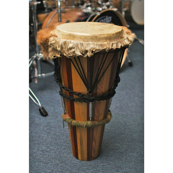Ashiko Hand Drum Deer Head 24-Inch Pine/Maple Handmade (Pre-Owned) - Bananas At Large®