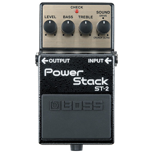 Boss ST-2 Power Stack Distortion Pedal - Bananas at Large