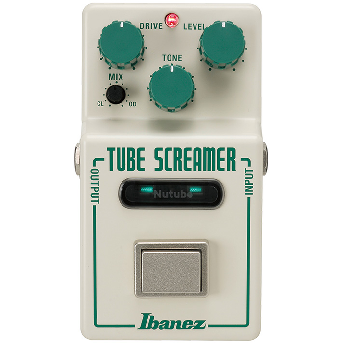 Ibanez Nu Tube Screamer Overdrive Pedal with Nutube
