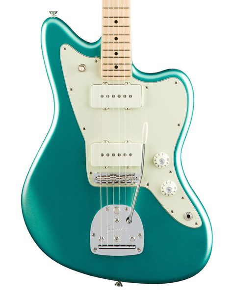 Fender American Pro Jazzmaster, Maple Fingerboard - Mystic Seafoam - Bananas at Large - 1