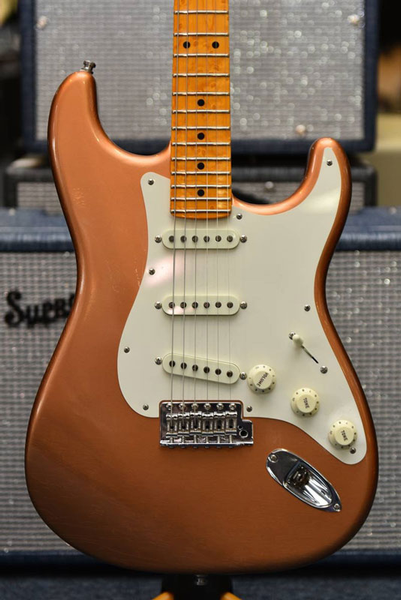 Fender Custom Shop Postmodern #127 MN Ash Body Stratocaster Lush Closet Classic - Faded Copper